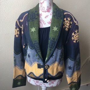 Flashback Tapestry Vintage Southwest Jacket M